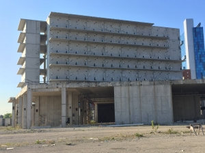 Unfinished Wayne County jail